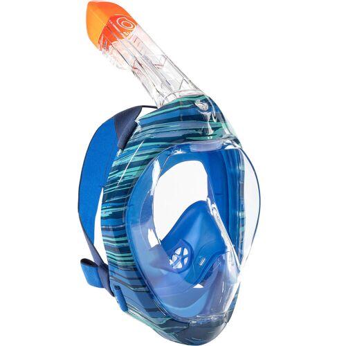 SUBEA Schnorchelmaske Easybreath 500 swell blau BLAU