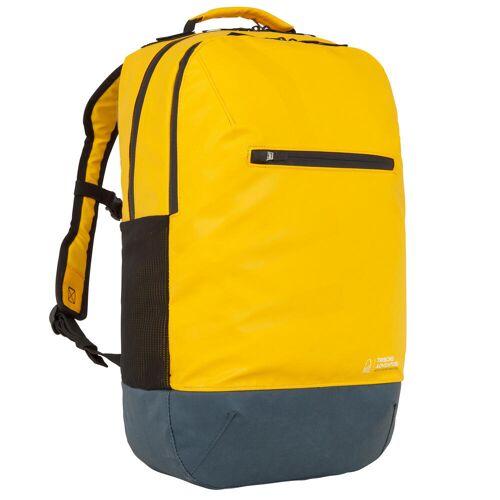 TRIBORD Rucksack wasserabweisend 25L gelb GELB