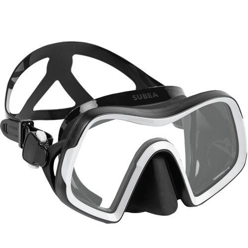 SUBEA Tauchmaske SCD 500 Mono V2 Einglas-Maske schwarz/grau BLAU/GRAU/SCHWARZ