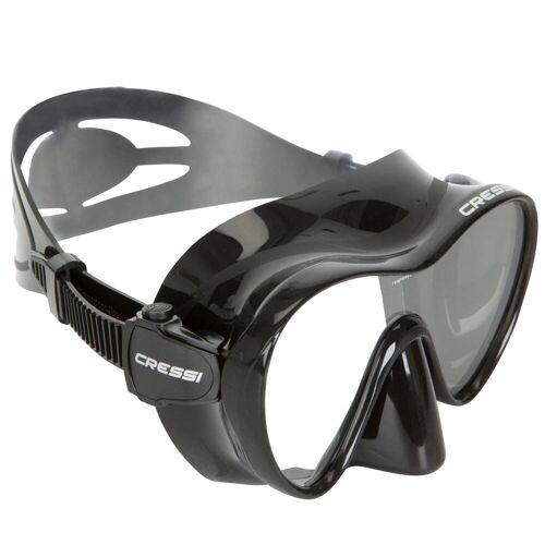 CRESSI Tauchmaske F1 Frameless schwarz