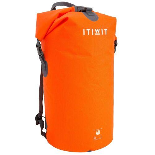ITIWIT Wasserfeste Tasche 40L orange
