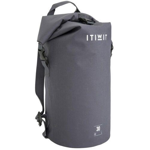 ITIWIT Wasserfeste Tasche 30l grau