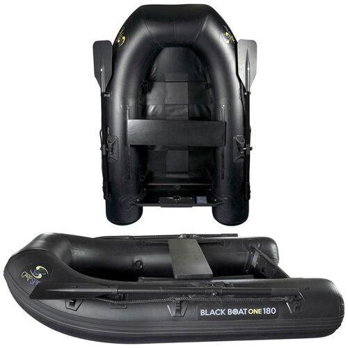"""CARP SPIRIT Schlauchboot """"Black Boat One"""" 180 Karpfenangeln"""