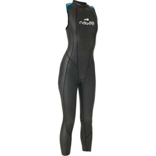 NABAIJI Neoprenanzug Freiwasserschwimmen ärmellos OWS 500 Neopren 2/2mm Damen