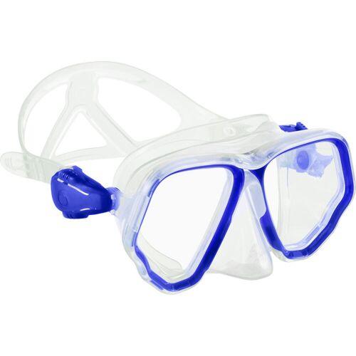 Subea Tauchmaske Gerätetauchen SCD 500 Zweiglas/Bi-Glas cristal