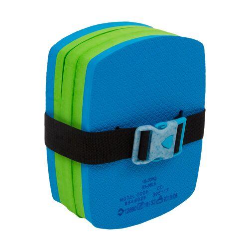 NABAIJI Schwimmgürtel mit abnehmbarem Auftriebselement Kinder 15‒30kg blau/grün