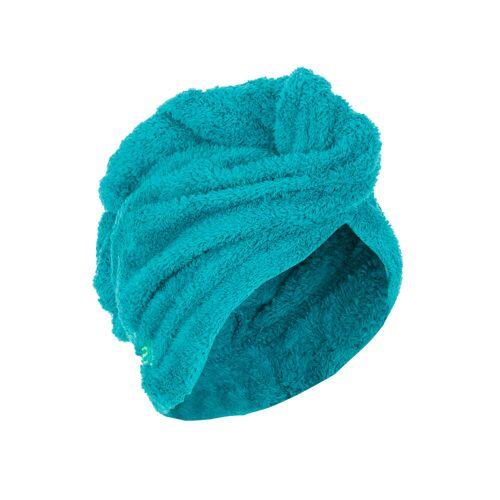 NABAIJI Haar-Handtuch Mikrofaser weich blau