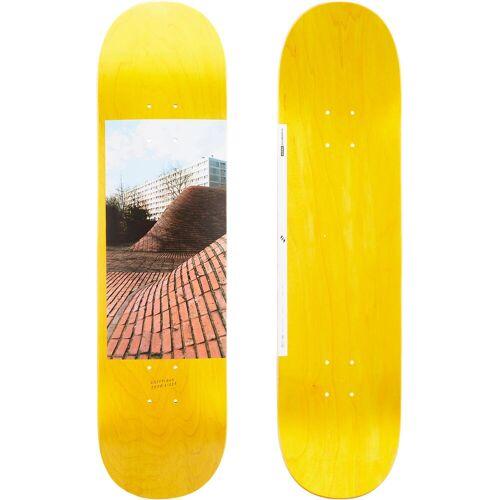 "OXELO Skateboard-Deck 120 Größe 8"" gelb"