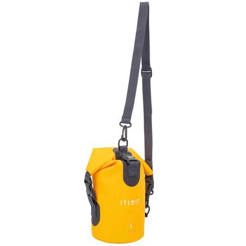 ITIWIT Wasserfeste Tasche 5l gelb
