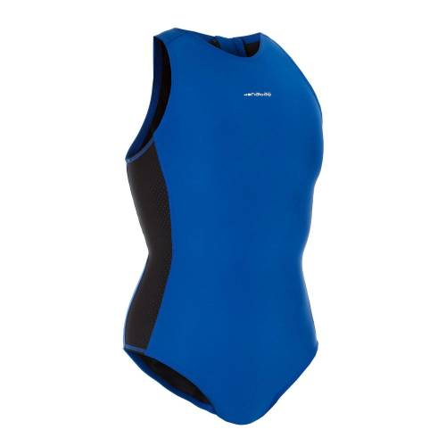 WATKO Badeanzug Wasserball 500 Damen blau