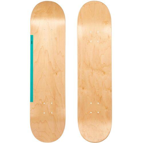 """OXELO Skateboard-Deck 100 Größe 7,75"""" Holz/grün"""
