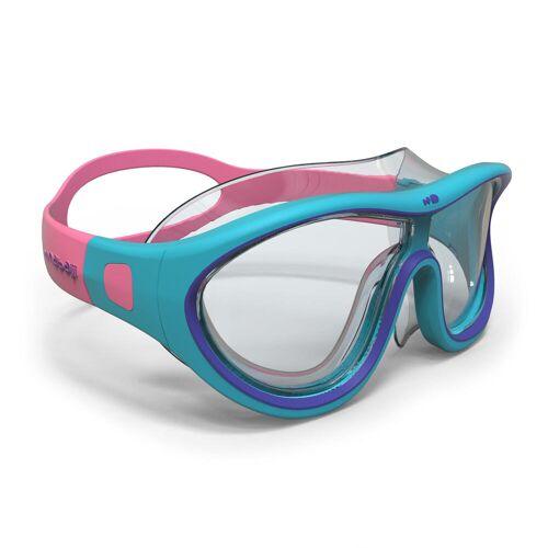 NABAIJI Schwimmmaske Swimdow Größe S blau/rosa