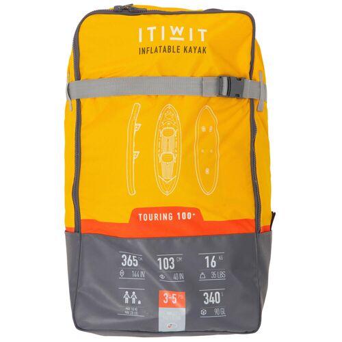 ITIWIT Rucksack für aufblasbares Kajak X100 2-Sitzer