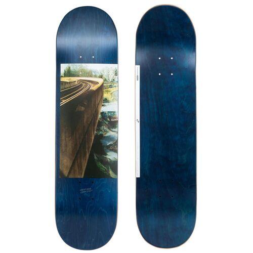 "OXELO Skateboard-Deck 120 Größe 8.25"" blau"
