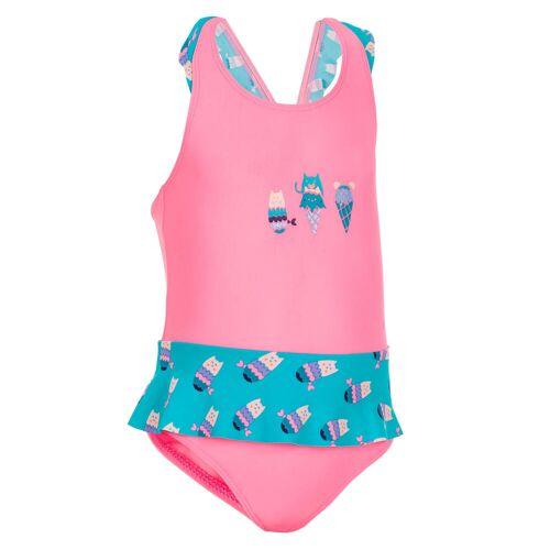 NABAIJI Badeanzug Baby/Kleinkind Mädchen bedruckt rosa/blau