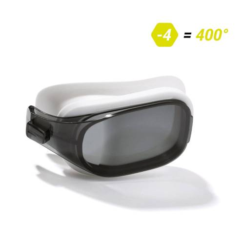 NABAIJI Schwimmbrillen-Glas Stärke -4.00 für Schwimmbrille Selfit Größe L getönt