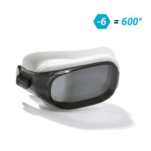NABAIJI Schwimmbrillen-Glas Stärke -6.00 für Schwimmbrille Selfit Grösse L getönt