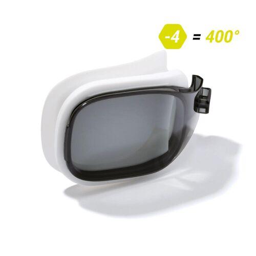NABAIJI Schwimmbrillen-Glas Stärke -4.00 für Schwimmbrille Selfit Grösse S getönt