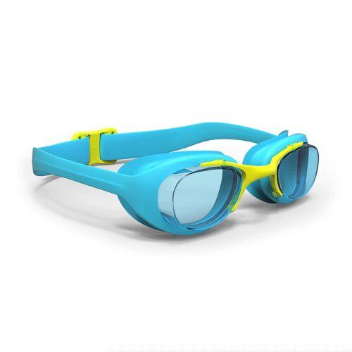 NABAIJI Schwimmbrille 100 XBase Größe S blau/gelb