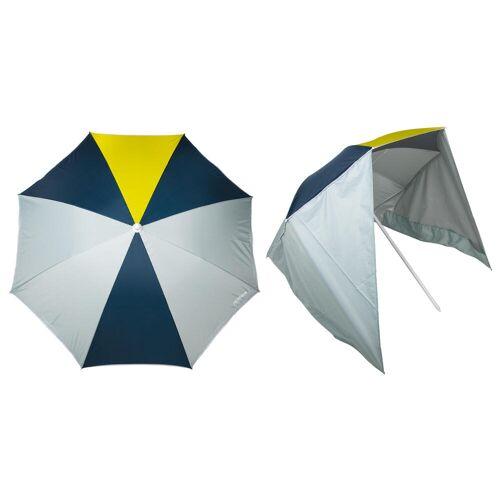 RADBUG Sonnenschirm Paruv Windstop UPF50+ 2 Plätze gelb/dunkelgrün