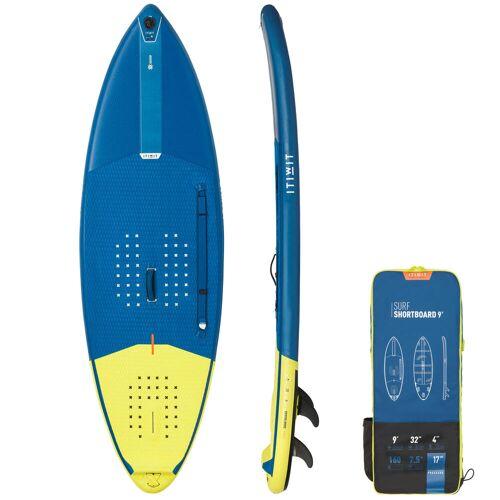 ITIWIT SUP-Board aufblasbar Surfen Shortboard Stand Up Paddle 500 / 9' 160L