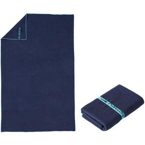 NABAIJI Mikrofaser-Badetuch Größe L 80×130cm blau