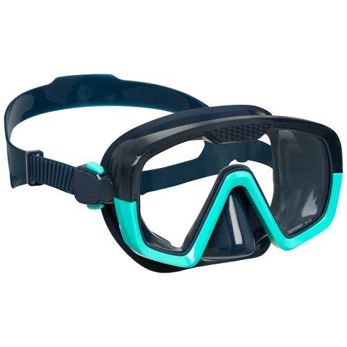 SUBEA Tauchmaske Gerätetauchen SCD100 blau/bicolor