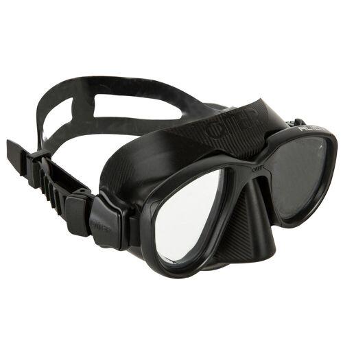 OMER Tauchmaske Freediving Alien schwarz