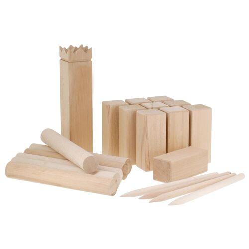 GEOLOGIC Kubb Holzkegelspiel Wikingerschach