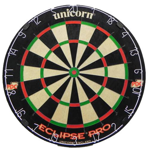 Unicorn Dartscheibe Eclipse Pro Steeldart Sisalfasern