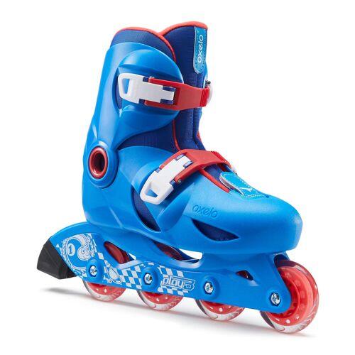 OXELO Inline Skates Inliner Play 3 Kinder blau/rot BLAU ROT