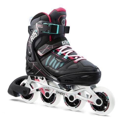 OXELO Inline Skates Inliner FIT 5 Kinder grau/pink GRAU ROSA