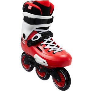 Powerslide Inline Skates Inliner Triskate Freeskate ZOOM 100 Erwachsene rot/weiß