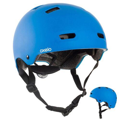OXELO Skaterhelm MF500 für Inliner Skateboard Scooter blau
