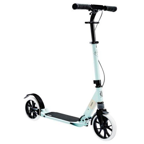 OXELO City-Roller Scooter Town 7XL Erwachsene hellgrün