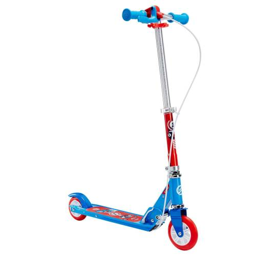 OXELO Kinderroller Scooter Play 5 Lenkbremse blau