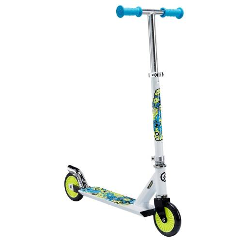 OXELO Kinderroller Scooter Play 3 weiss/neon