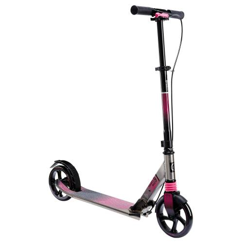 OXELO City-Roller Scooter Mid9 rosa
