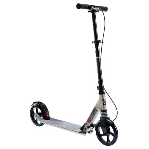 OXELO City-Roller Scooter Mid9 grau