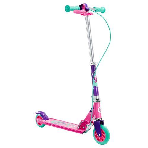OXELO Kinderroller Scooter Play 5 Lenkbremse lila