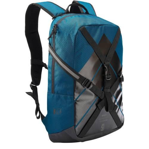 OXELO Inliner-Rucksack BP100 20 Liter blau
