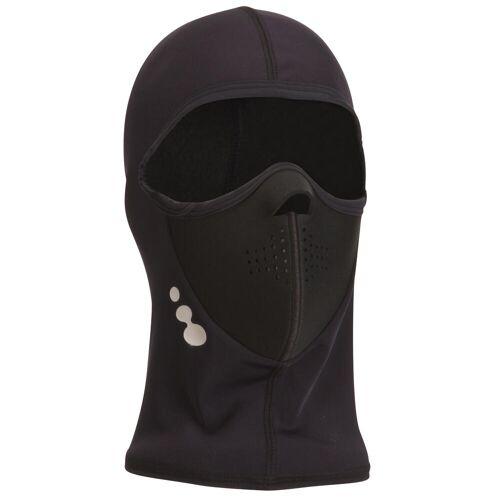 WEDZE Ski-Maske Pulverschnee SCHWARZ