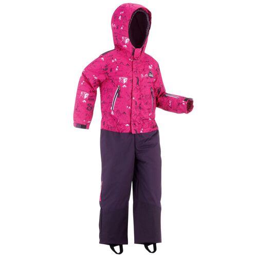 WEDZE Schneeanzug 500 Kinder rosa