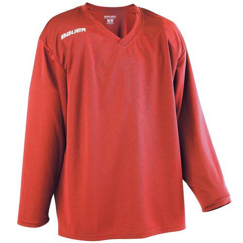 Bauer Eishockey-Trikot B200 Erwachsene rot
