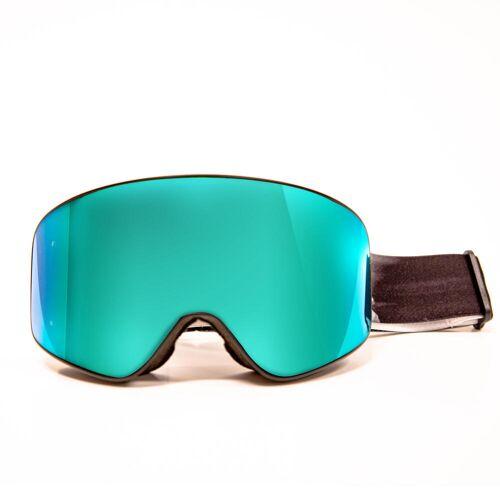 No brand Skibrille Snowboardbrille G-Switch 500 Allwetter Erwachsene/Kinder schwarz