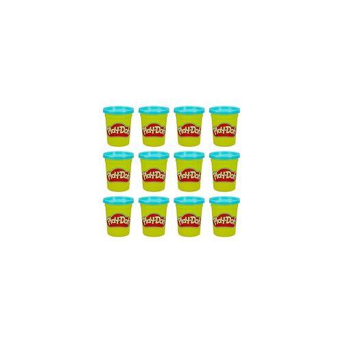 Hasbro Play-Doh 12er-Pack mit blauer Spielknete, Kneten