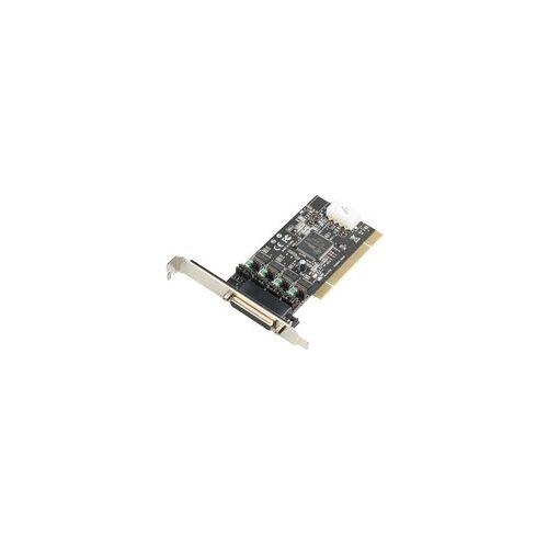 i-tec PCI POS Card 4x Serial RS232 + DB25, Controller