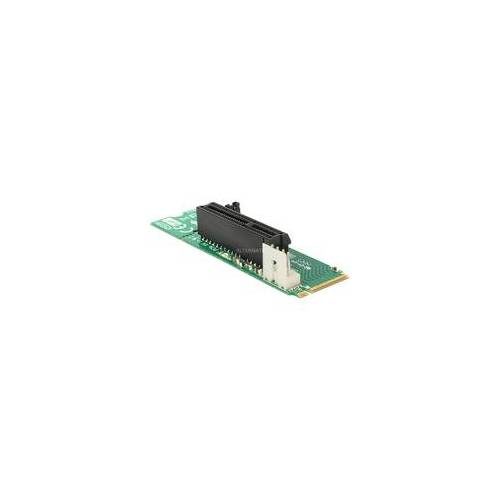 Delock Adapter M.2 NGFF - PCIe x4, Controller