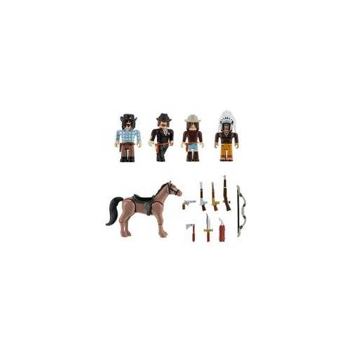 Jazwares GmbH Roblox - 6er Figuren Multipack - The Wild West, Spielfigur