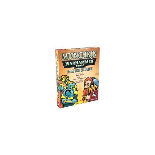 Pegasus Munchkin Warhammer 40.000: Zorn und Zauberei, Kartenspiel